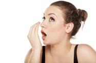 неприятным запахом изо рта
