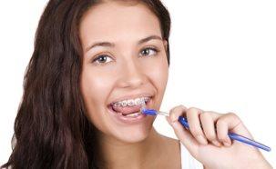 ортодонтические зубочистки с ершиком