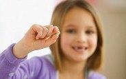 выпадение временных зубов