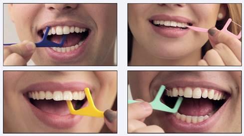 флосстик для зубов