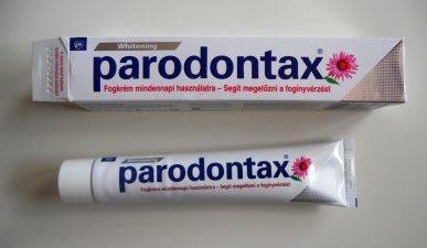 Пародонтакс для отбеливания зубов