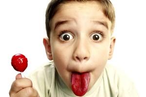 почему язык малиновый