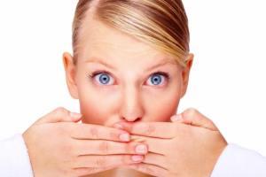 пятна на слизистой губ