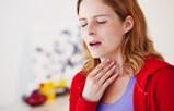 полоскать больное горло